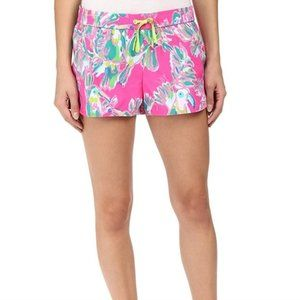 Lilly Pulitzer Run Around Shorts Size XS Toucan